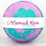 **1New - Mermaid Kisses Bath Bomb - 5 ounces