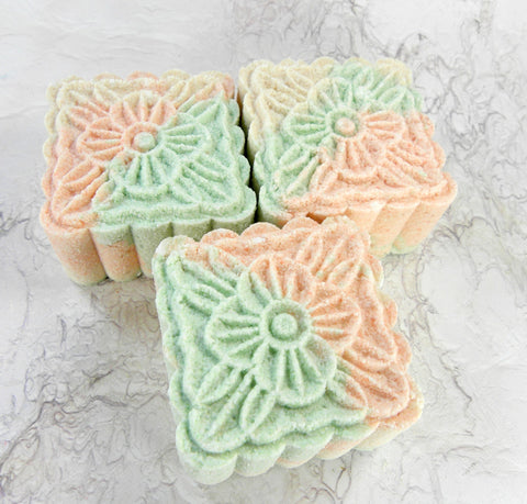 Mint Mango Tea mooncake bombs