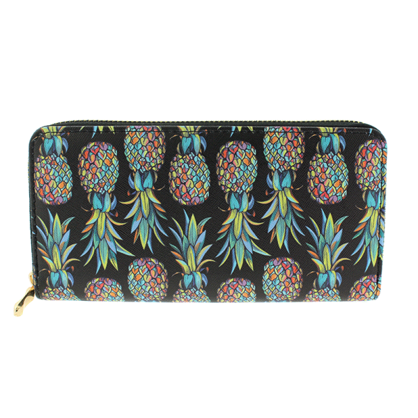 Black Pinapple Wallet
