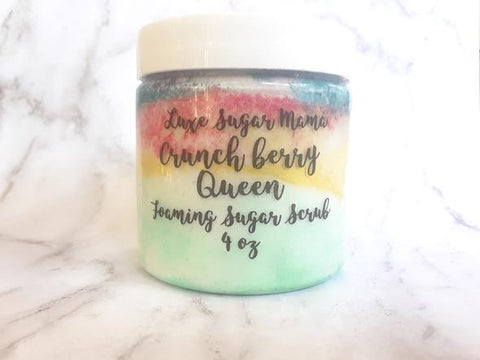 Crunch Berry Queen Foaming Sugar Scrub