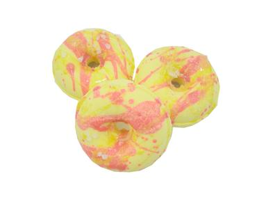 Watermelon Lemonade Donut Bath Bomb