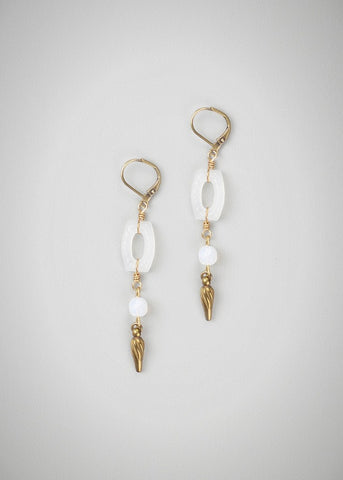 Opaline earrings