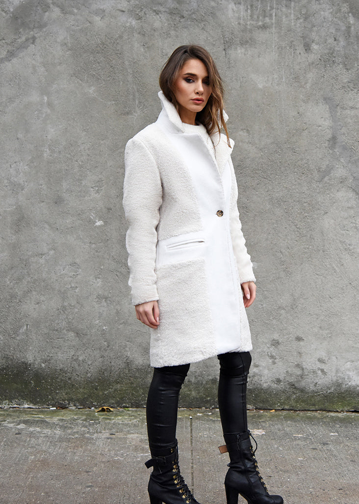 Teddy Wool Coat