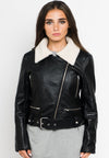 Ride or Die Leather Moto Jacket