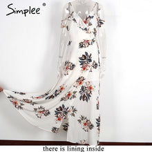 Simplee Floral Long Dress - Tagerts