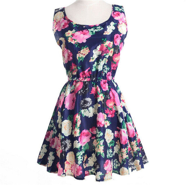 Flower Print Dress - Tagerts