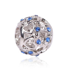Silver Plated Charm Blue for Pandora Bracelet - Tagerts
