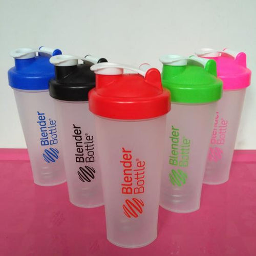 Blender Bottle Protein Shaker Random Colour (500mL)