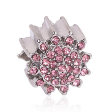 Couqcy Lovely Pink Beads Fit Original Pandora Bracelet Necklace Big Hole Diy Charms For Women Enamel Heart Shape Pendant Gift - Tagerts