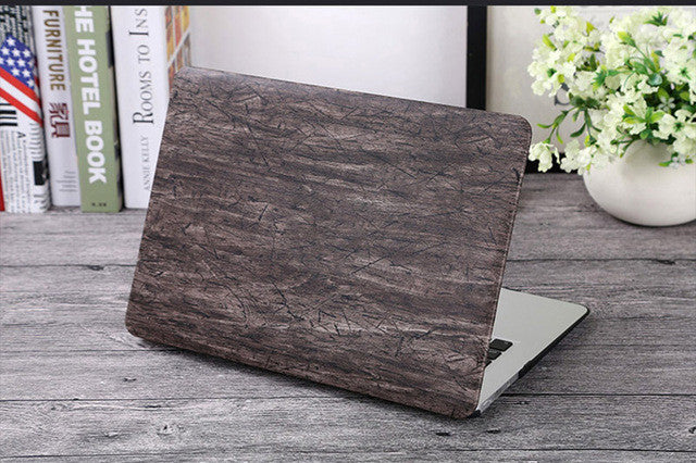 Wood Grain Case for Macbook
