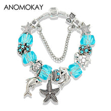 Sea Life Themed Charm Bracelet - Tagerts