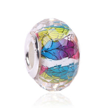 AIFEILI Fashion 14MM Mixed Color silver Color Beads Charms Fit Pandora Jewelry Bracelet For Jewelry DIY personality Fitting - Tagerts