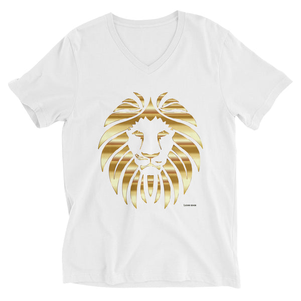 Golden Lion V-Neck T-Shirt