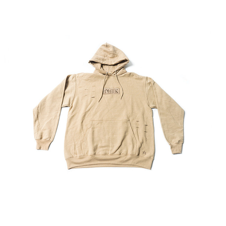 DISTRESSED BOX LOGO HOODY