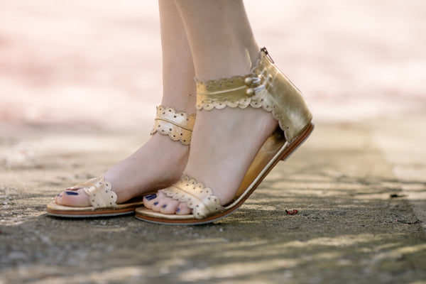 Midsummer Golden Sandal