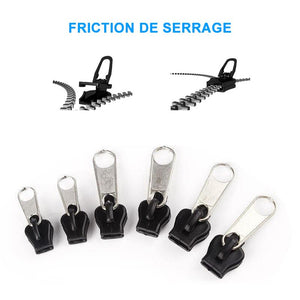 UnikGadgets Fix Zip Puller, 6 PCS