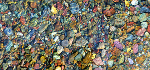 Glacier River Rocks