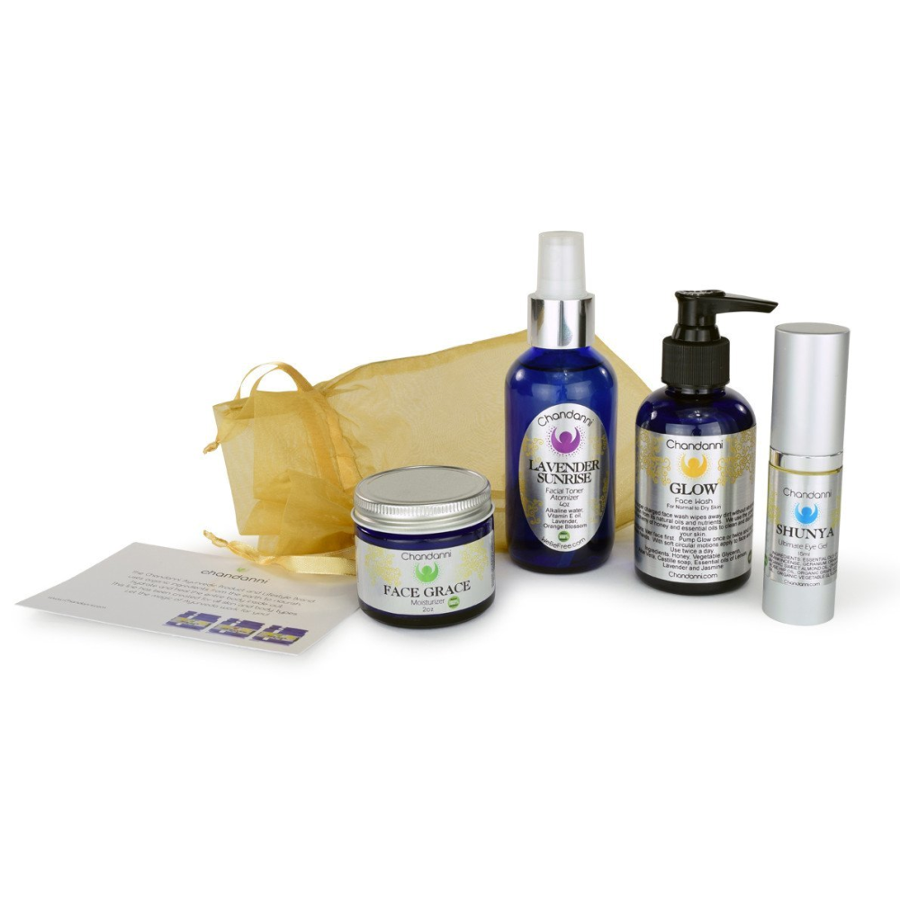 Organic Daily Beauty 4-Pack Gift