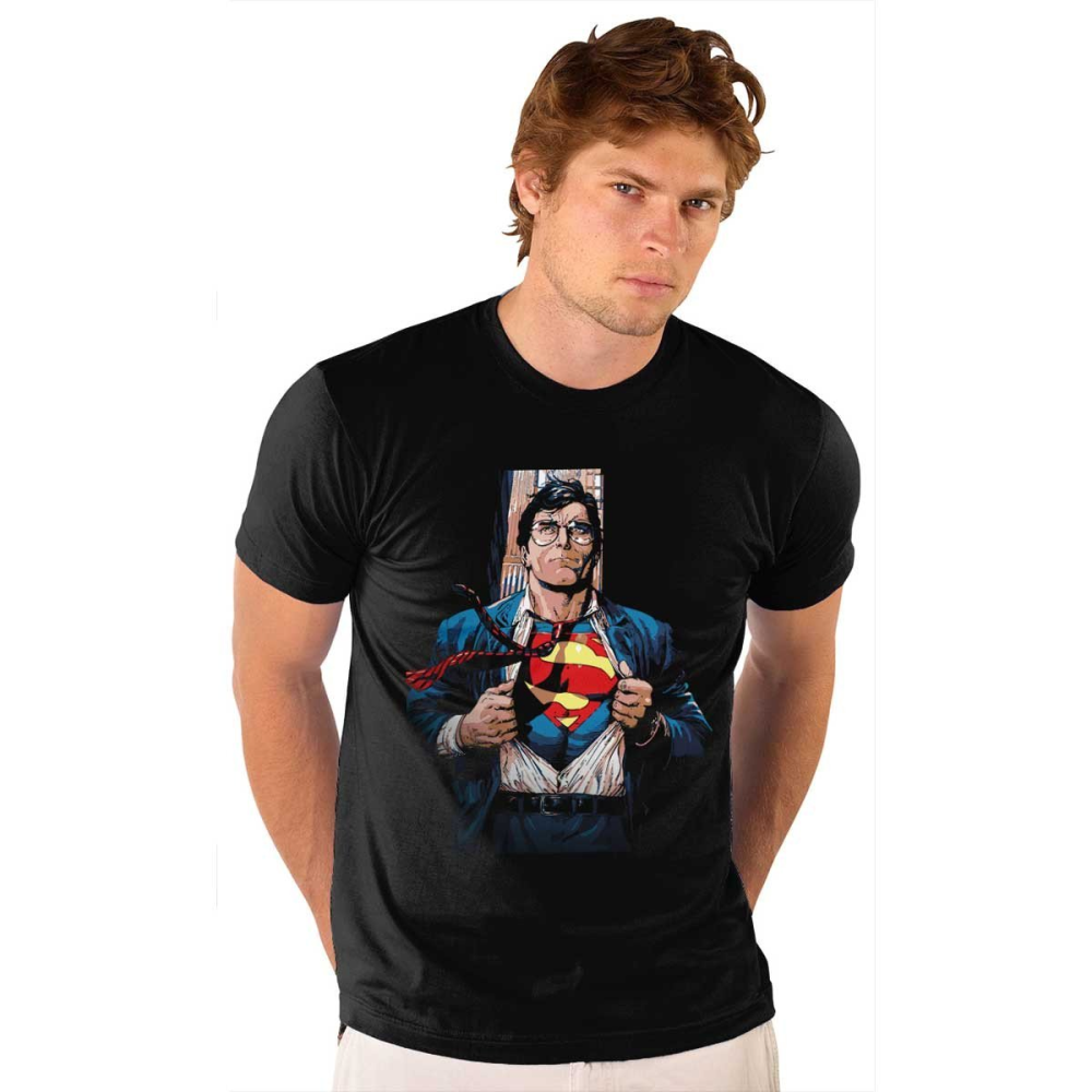 Clark Kent Superman Mens Wear T-Shirt