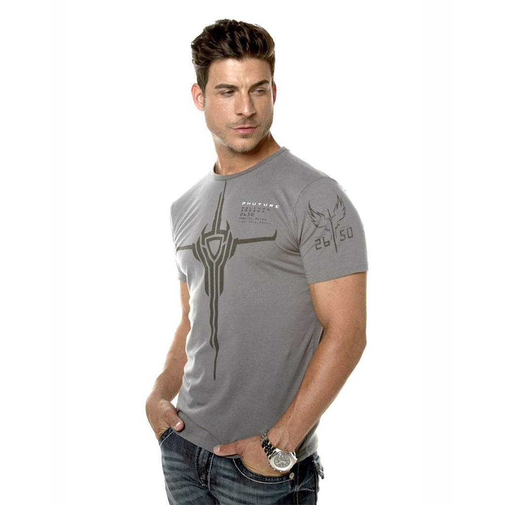 Halcyon Armada GT Grey Mens Wear T-Shirt - Zenteli