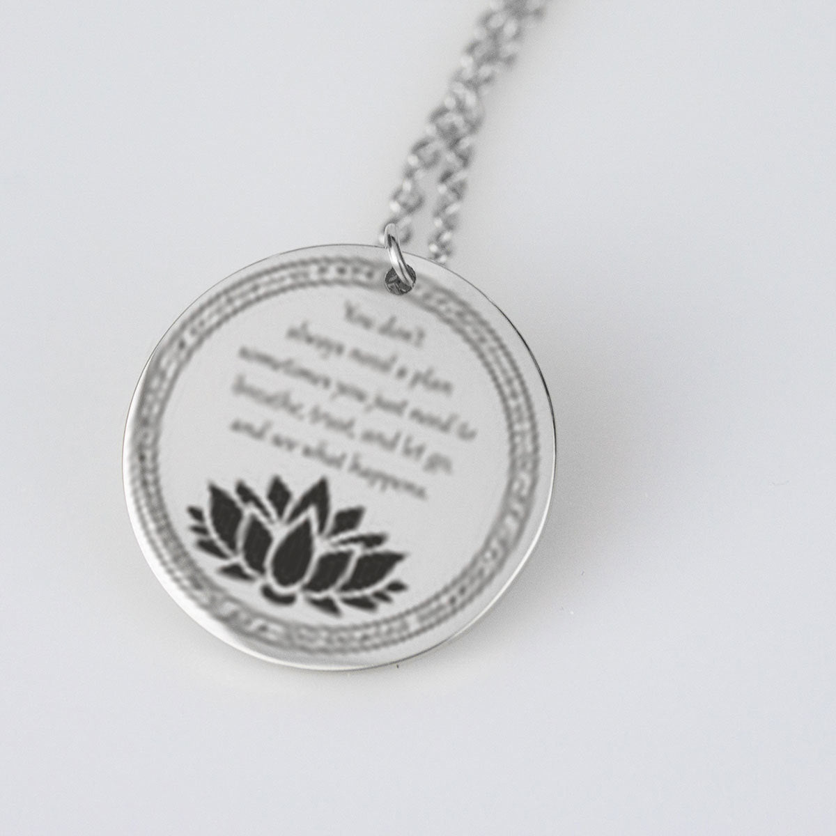 Just Breath -  Pendants