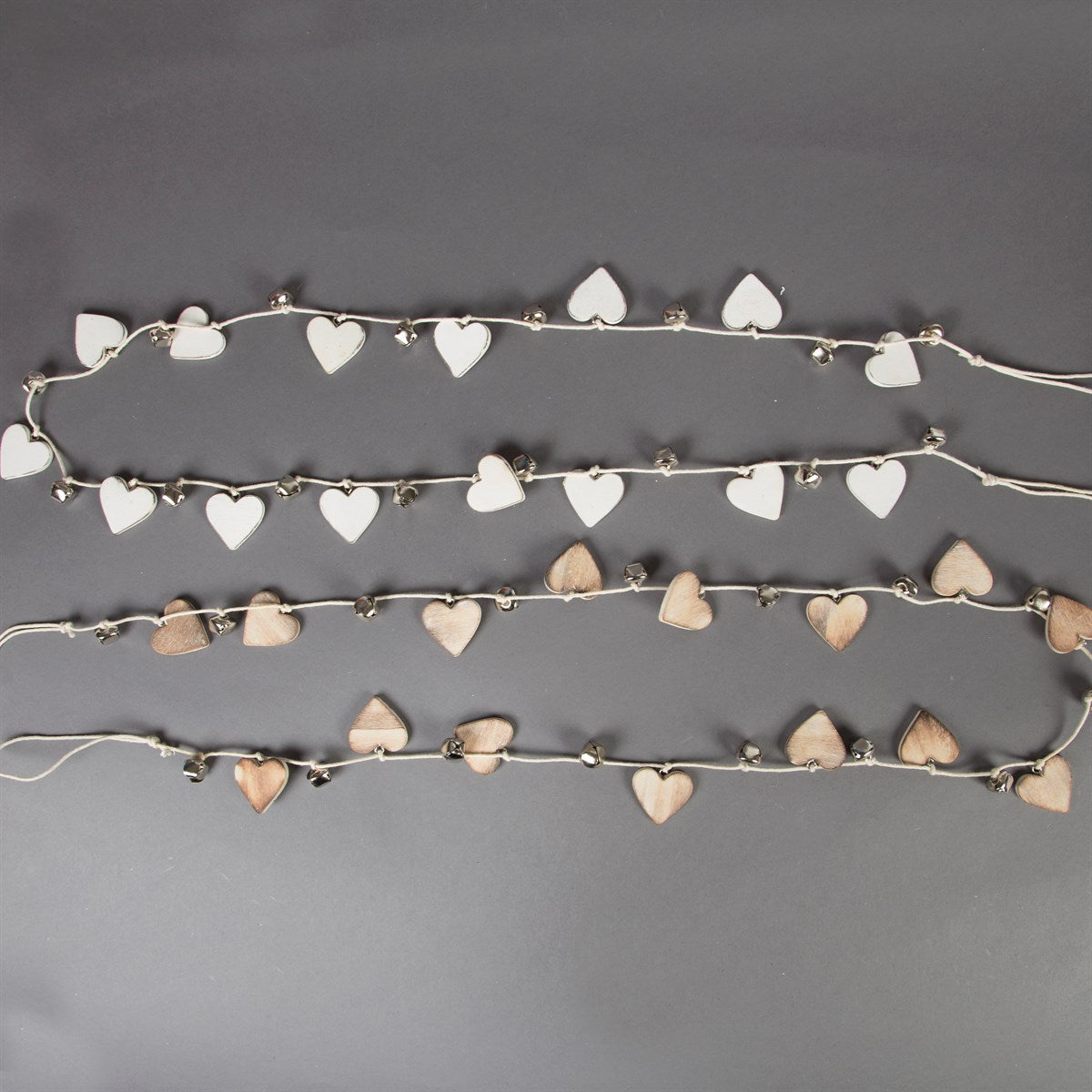 Rustic Heart Garland - Dales Country Interiors