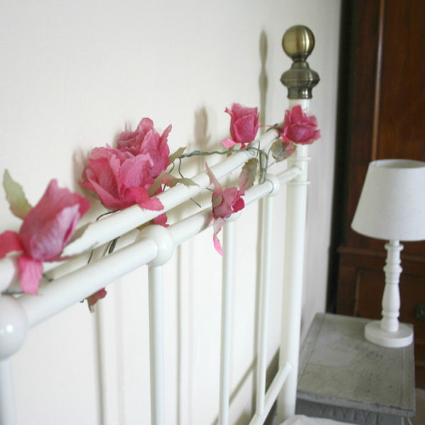Rose Garland - Dales Country Interiors