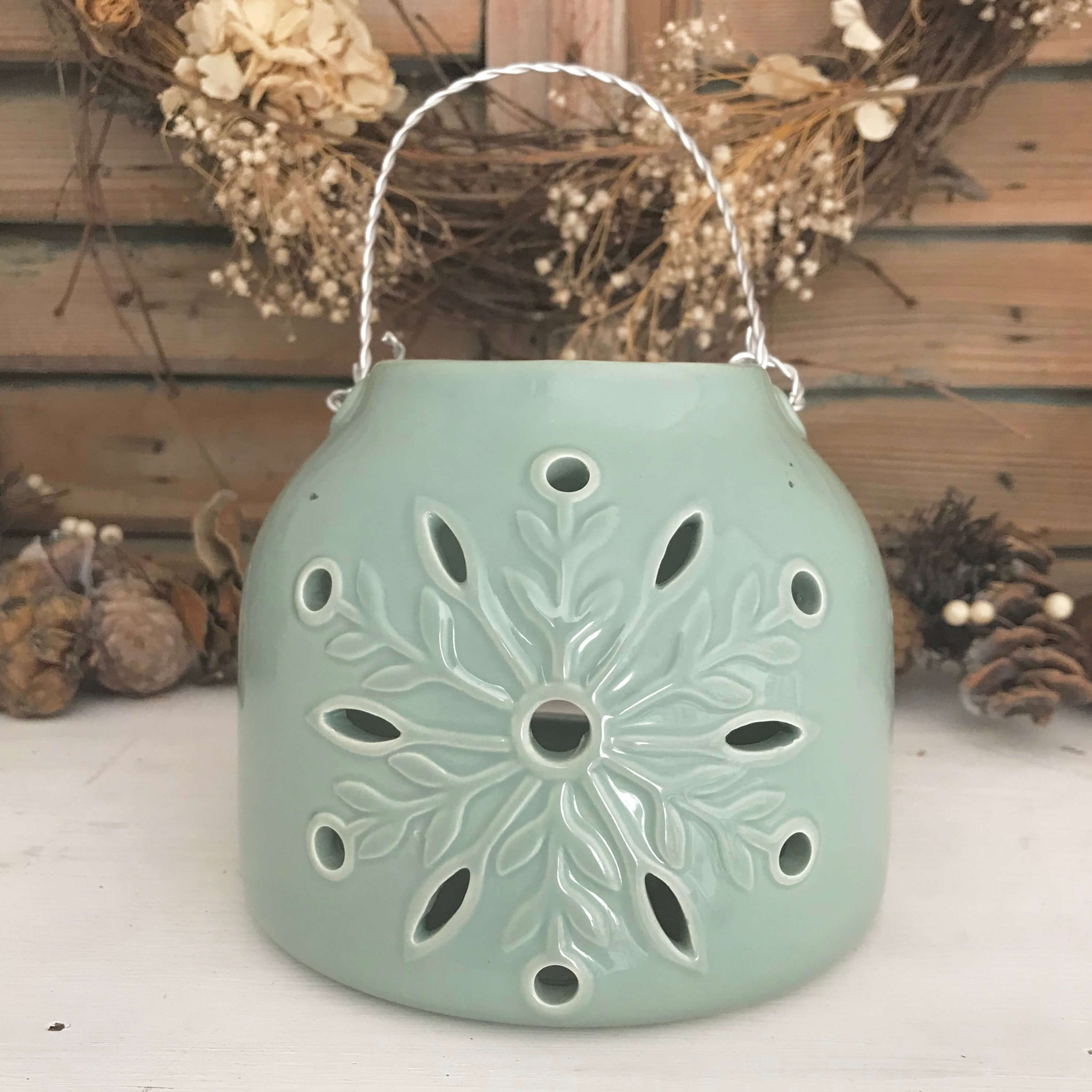 Snowflake Lantern - Dales Country Interiors