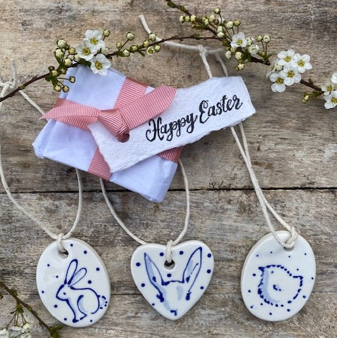 Hand painted Easter Decorations - Dales Country Interiors
