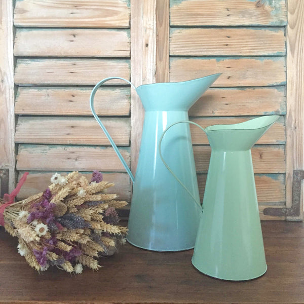 Enamel jugs - Dales Country Interiors