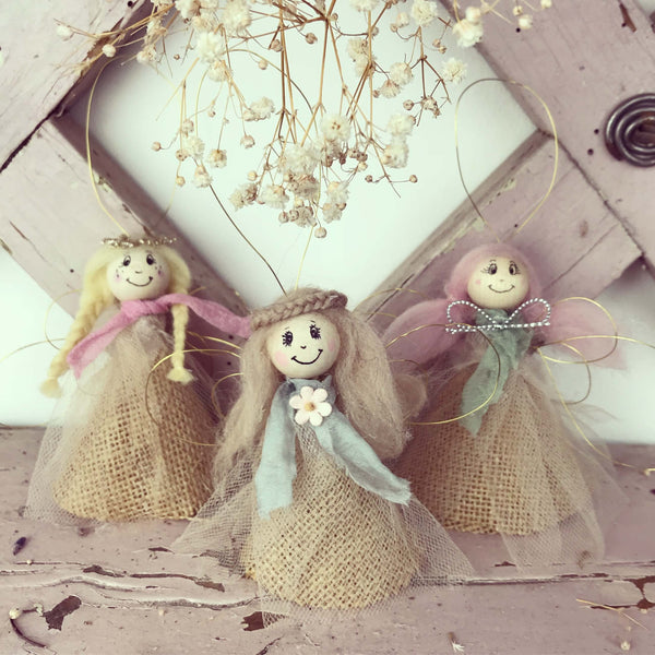 Handmade Hanging Fairies - Dales Country Interiors