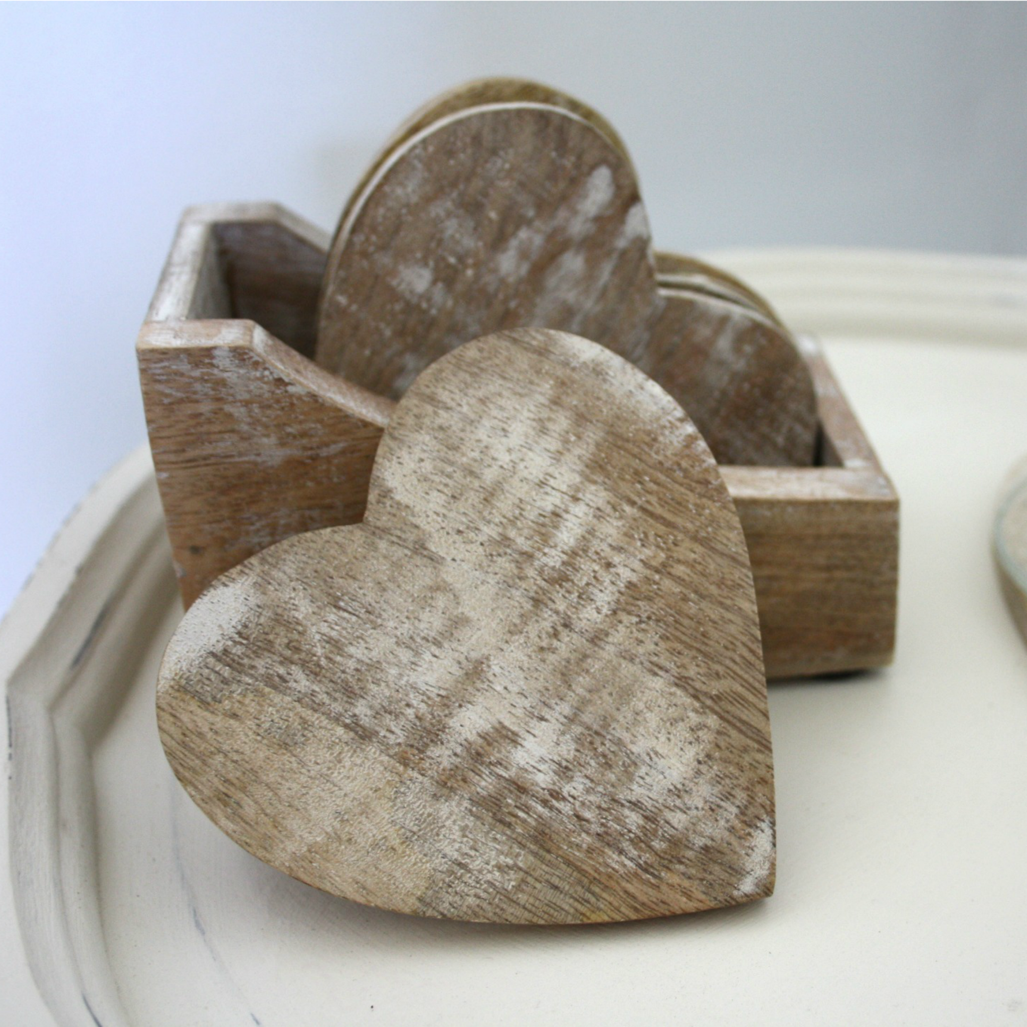 Heart Coasters - Dales Country Interiors