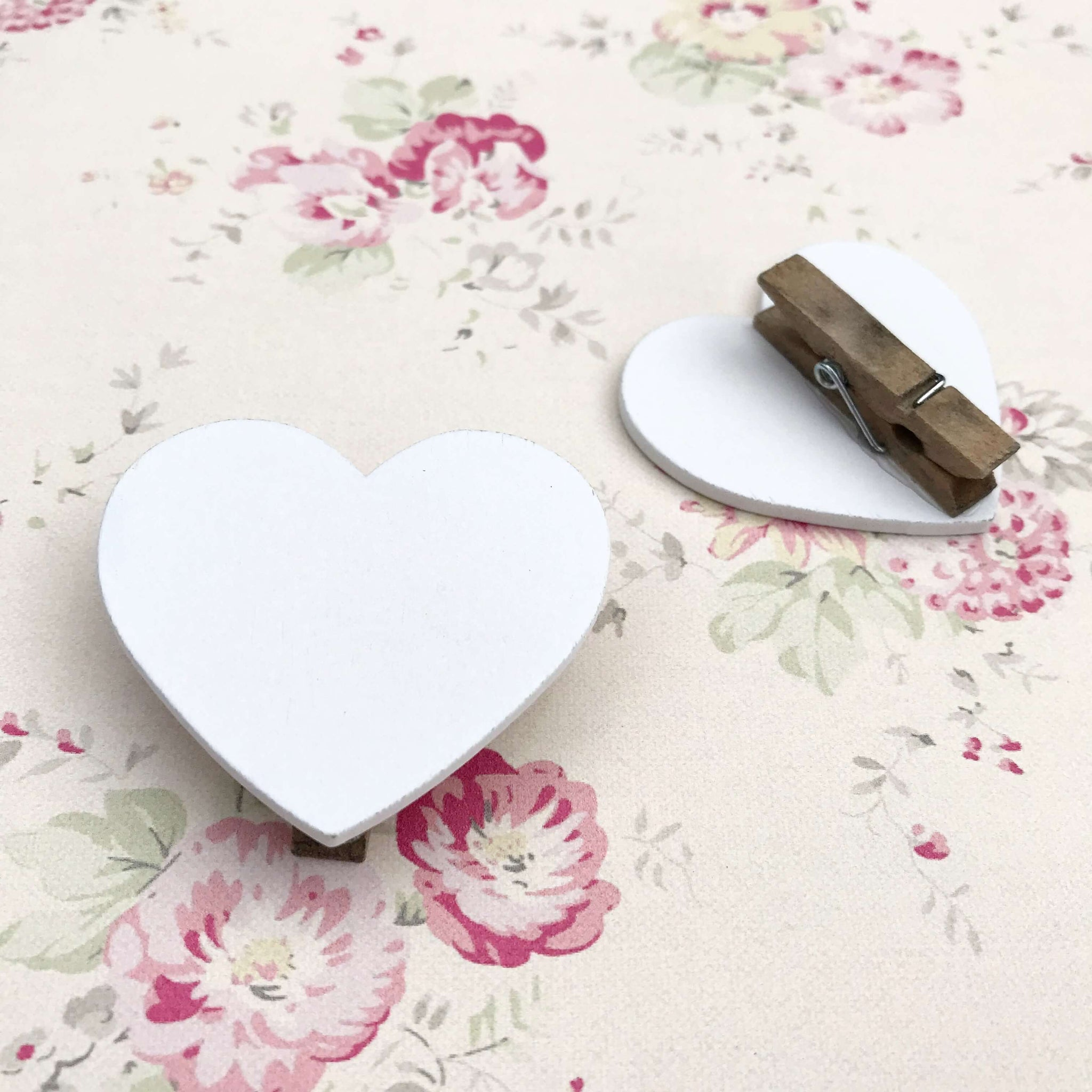 Heart Pegs - Dales Country Interiors
