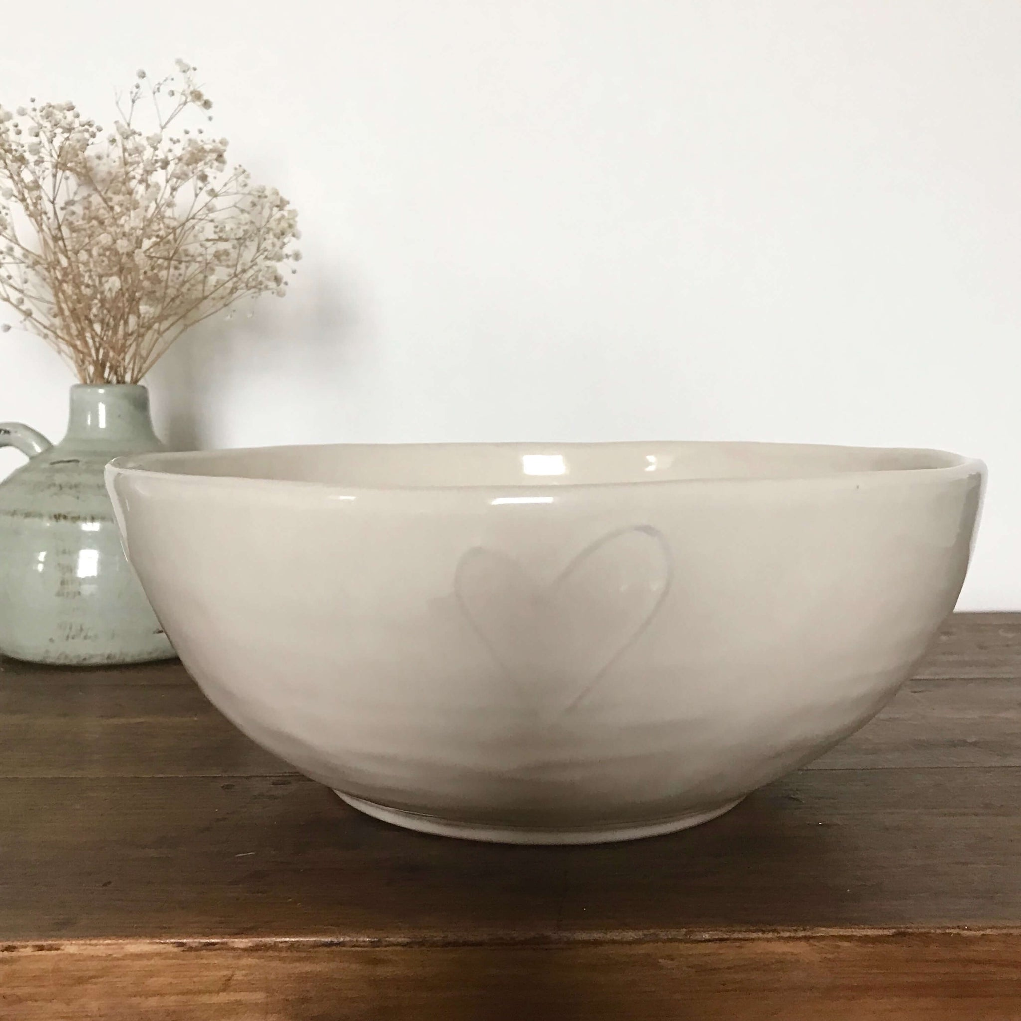 Heart Salad Bowl - Dales Country Interiors