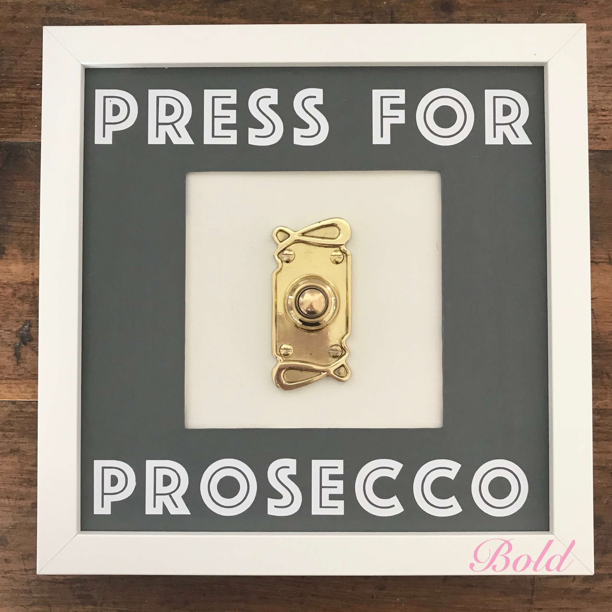 'Press For....' ringing frames - Dales Country Interiors