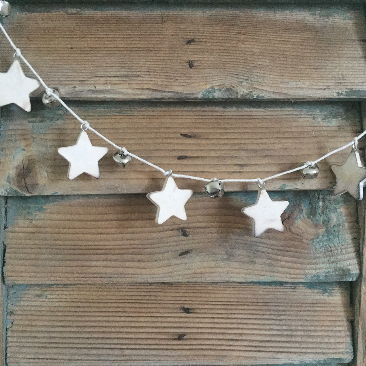 Rustic Star Garland - Dales Country Interiors