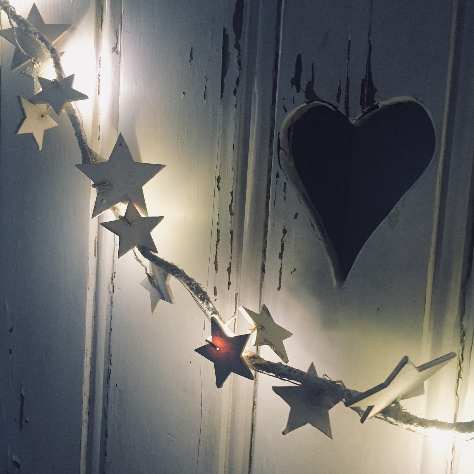 White Star LED Garland - Dales Country Interiors