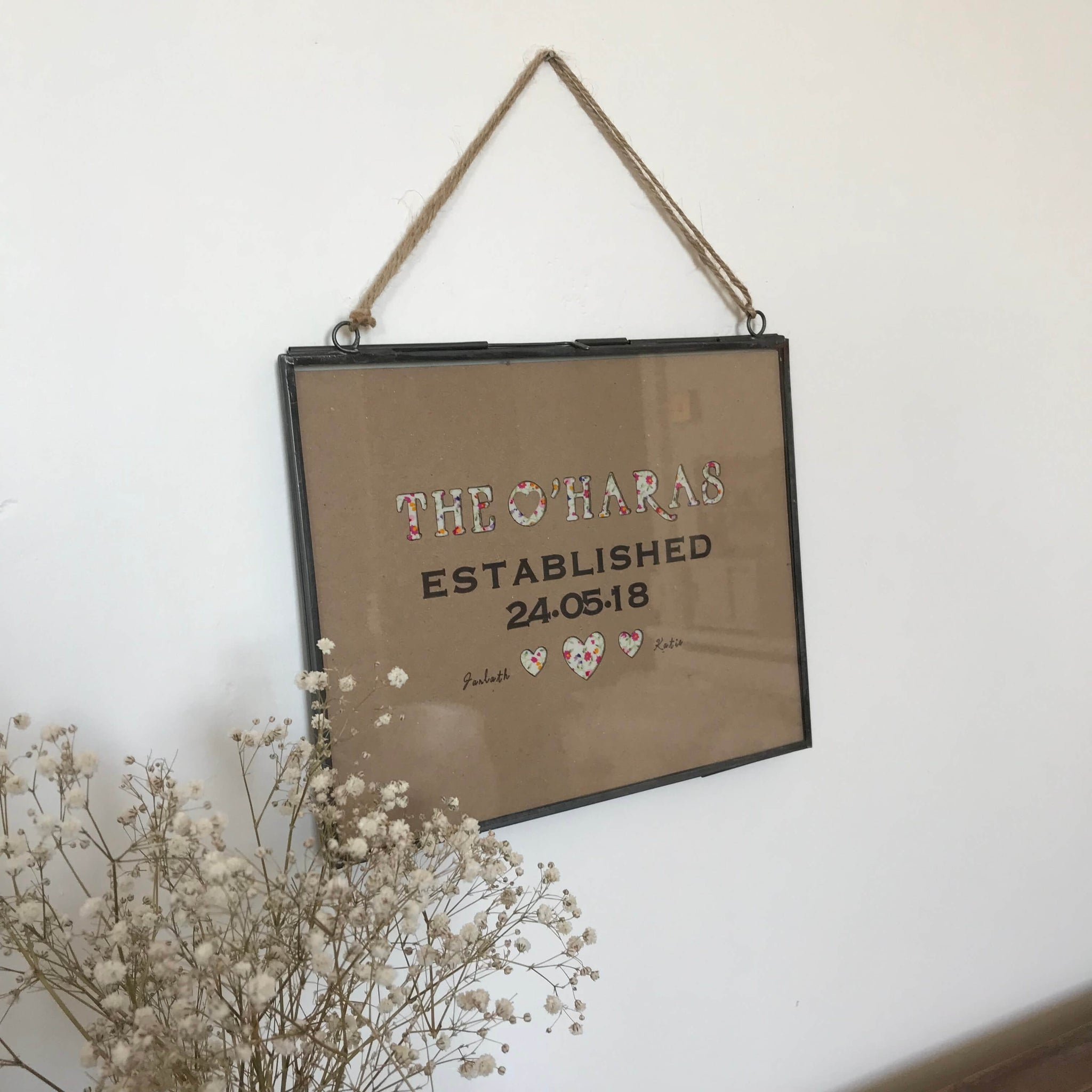'Established' bespoke wedding frames - Dales Country Interiors