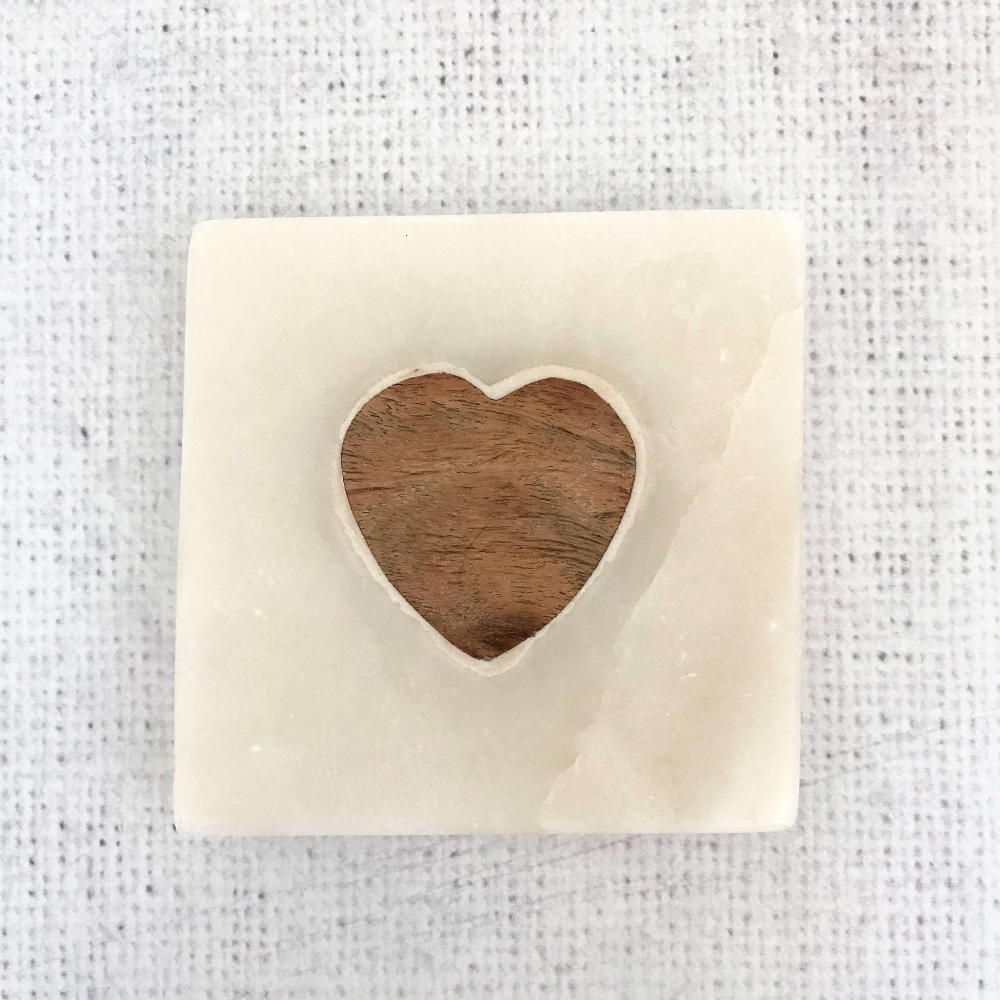 Marble Heart Coasters - Dales Country Interiors