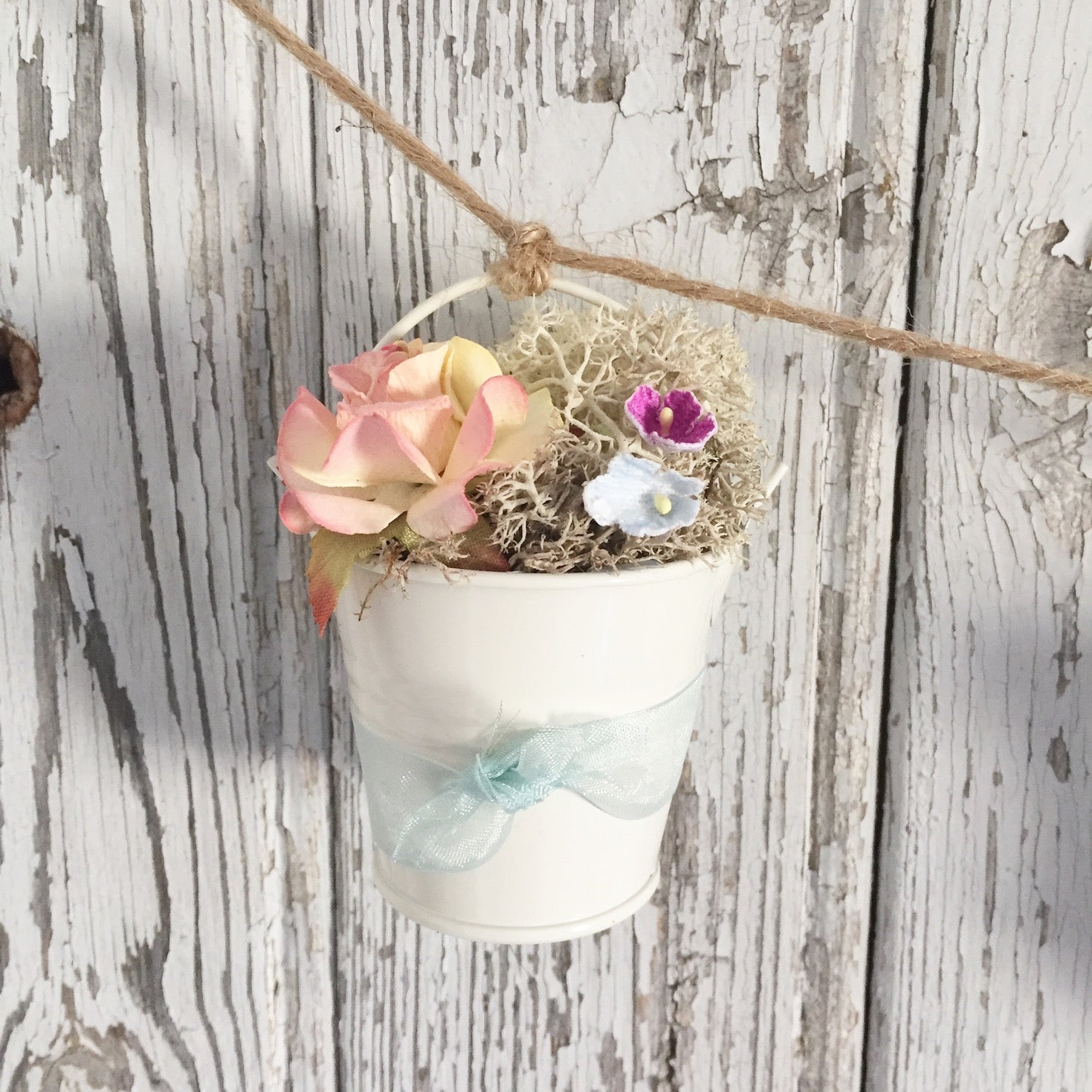 Mini Pail Garland - Dales Country Interiors