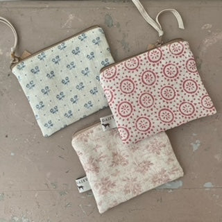 Fabric purses by Olive & Daisy