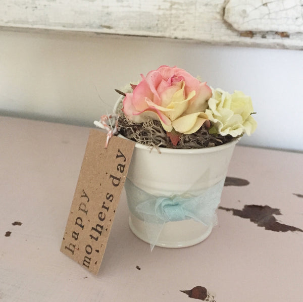 Mini Flower Pail - Dales Country Interiors