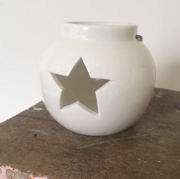 Star & Heart tealight holders - Dales Country Interiors