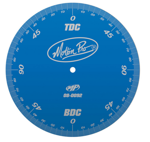 Motion Pro Degree Wheel, Eng. Timing