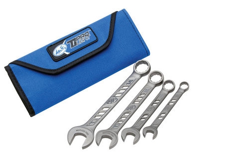 Motion Pro TiProlight™ Titanium 4 Pc Wrench Set