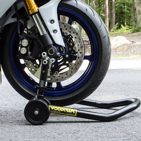 Woodcraft Adjustable Front Under Fork Stand (with or without speed sensor clearance)