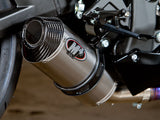 M4 STREET SLAYER SLIP-ON SYSTEM WITH TITANIUM CANISTER
