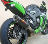 Kawasaki ZX10r Cat Back Carbon Exhaust System