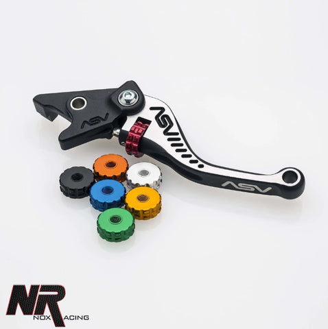 11-15 ZX10 ASV C5 SHORT UNBREAKABLE LEVER SET