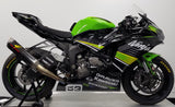 Graves Motorsports Kawasaki WORKS2 ZX-6R Cat Back Exhaust